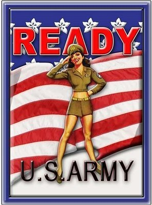 ARMY READY * 7'' x 11''