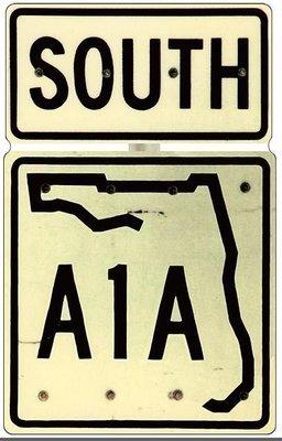 A1A SOUTH *  7'' x 11''