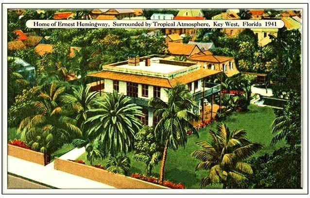HEMINGWAY HOUSE 1941 * 6'' x 11'' 10498