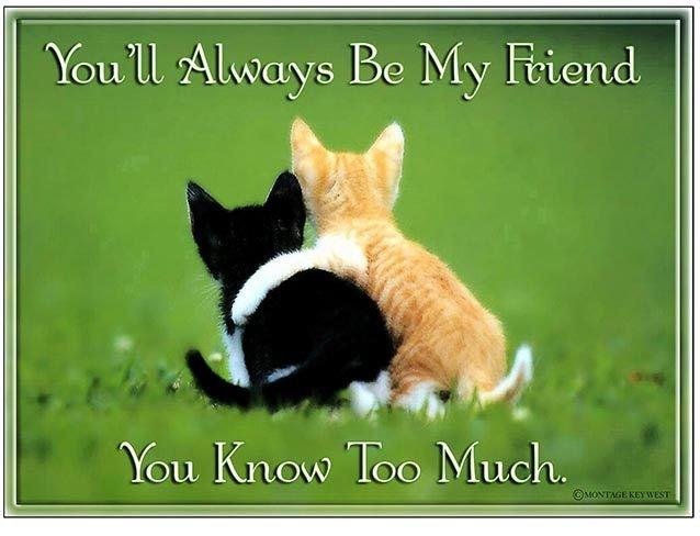 YOU'LL ALWAYS BE MY FRIEND * 8'' x 11''