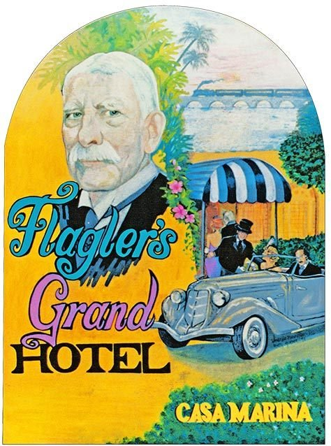 FLAGLER'S GRAND HOTEL * 8'' x 11'' 10578