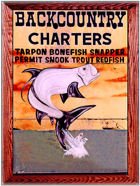 BACKCOUNTRY CHARTERS * 8'' x 11'' 10589