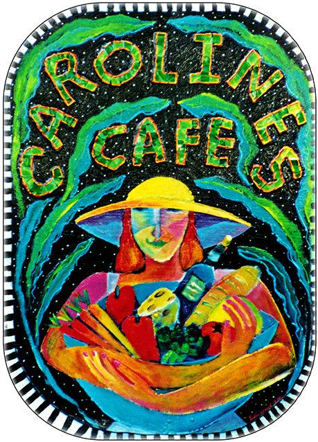 CAROLINE'S CAFE * 8'' x 11'' 10603