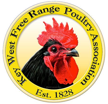 KEY WEST FREE RANGE CHICKENS * 8'' x 8'' 10632