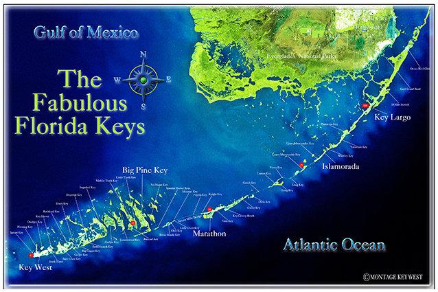 FABULOUS FLORIDA KEYS * 7'' x 11'' 10650