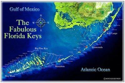 FABULOUS FLORIDA KEYS * 7'' x 11''