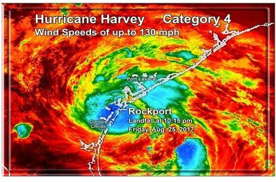 Hurricane Harvey Landfall 7