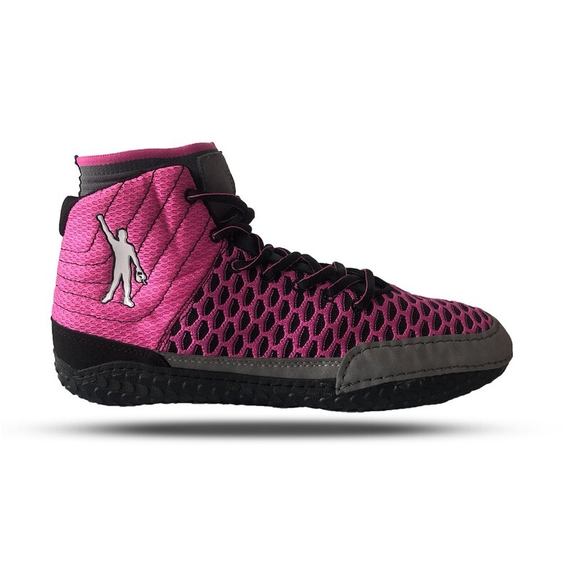 Pink Wrestle for a Cure Wrestling Shoe