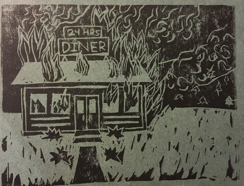 Diner Print