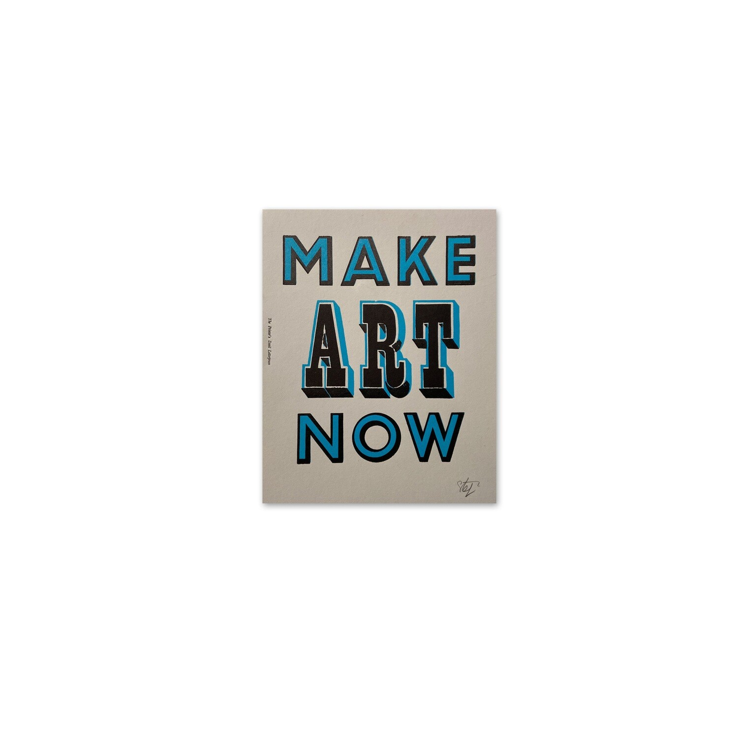 Make ART Now (Blue)