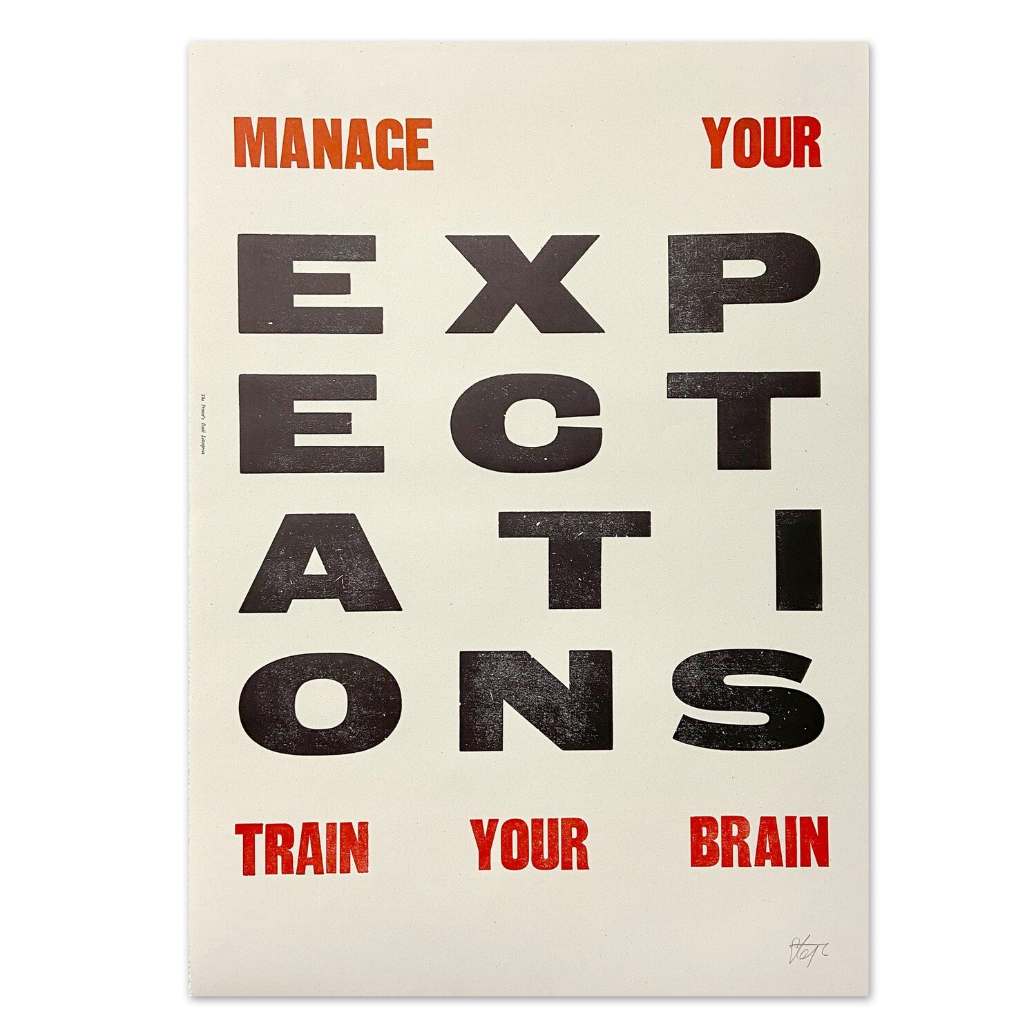 Manage Your Expectations