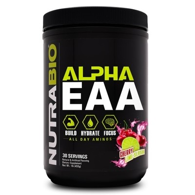 Nutrabio Alpha EAA - Cherry Lime Slush