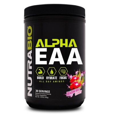 Nutrabio Alpha EAA - Dragon Fruit Candy