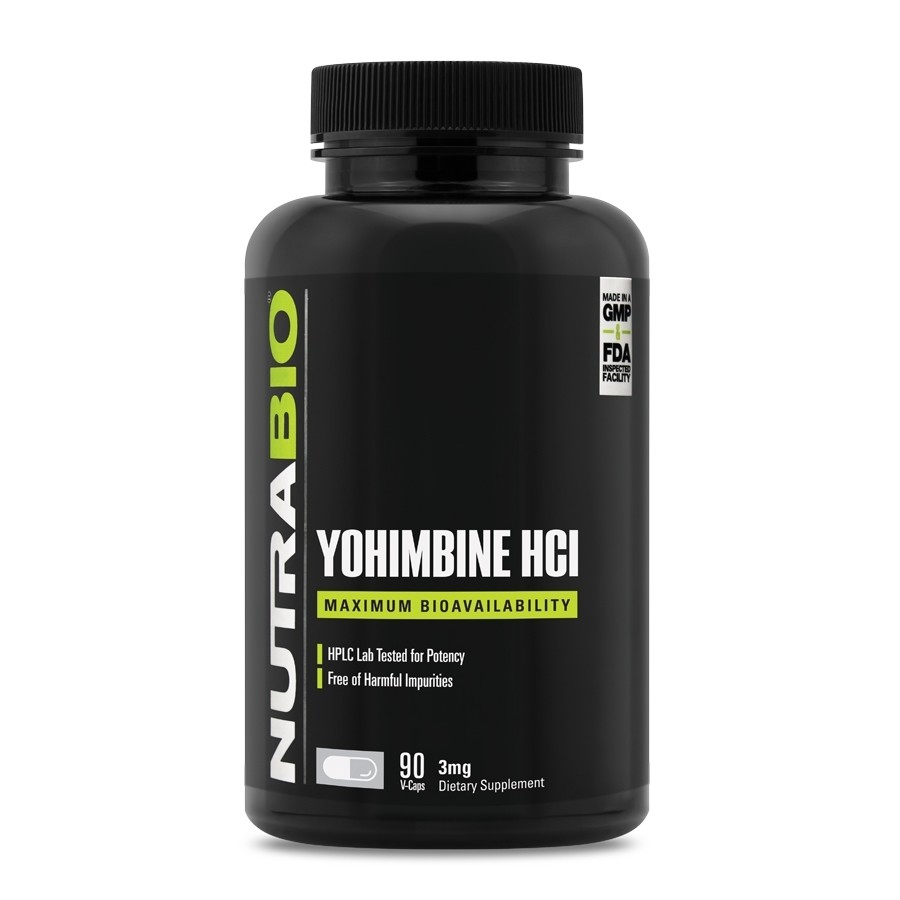 Nutrabio Yohimbine HCL