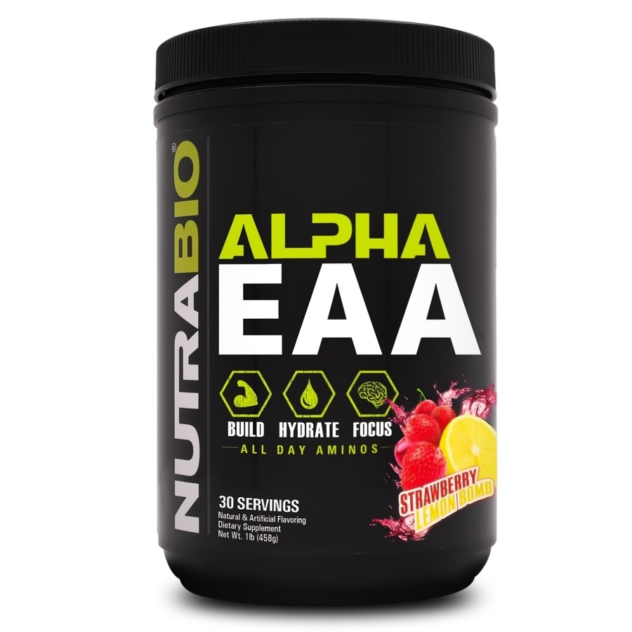 Nutrabio Alpha EAA - Strawberry Lemon Bomb