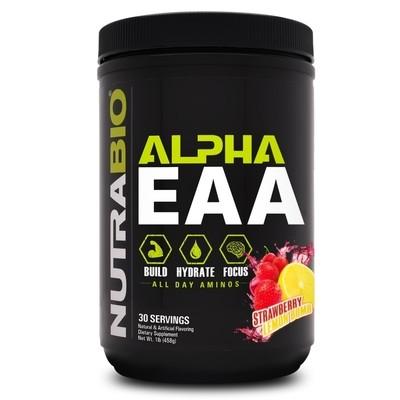 Nutrabio Alpha EAA - Strawberry Lemon Bomb