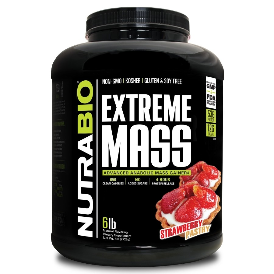 Nutrabio Extreme Mass - Strawberry Pastry