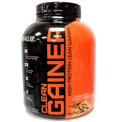 Rivalus Clean Gainer 5 Lbs - Cinnamon Toast Cereal