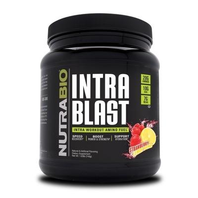 Nutrabio Intra Blast - Strawberry Lemon Bomb
