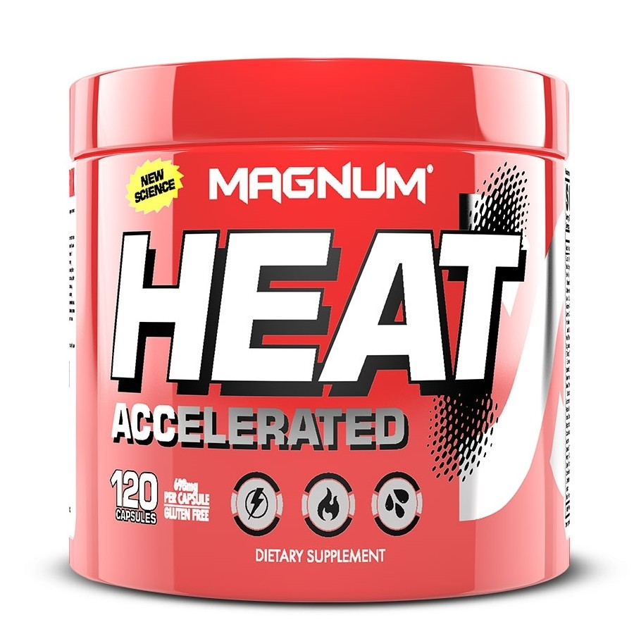 Magnum Heat Accelerated - 120 Capsules