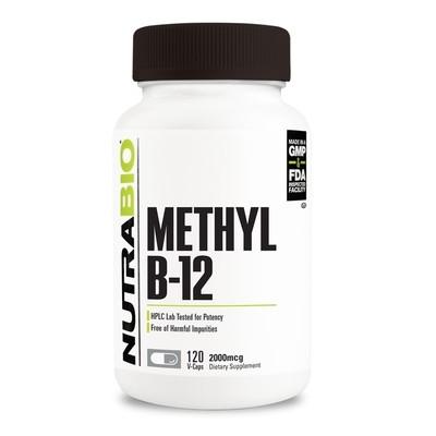 Nutrabio Methyl B-12 2000mcg