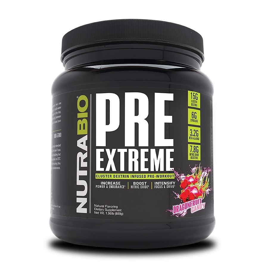 Nutrabio Pre Extreme - Dragonfruit Candy