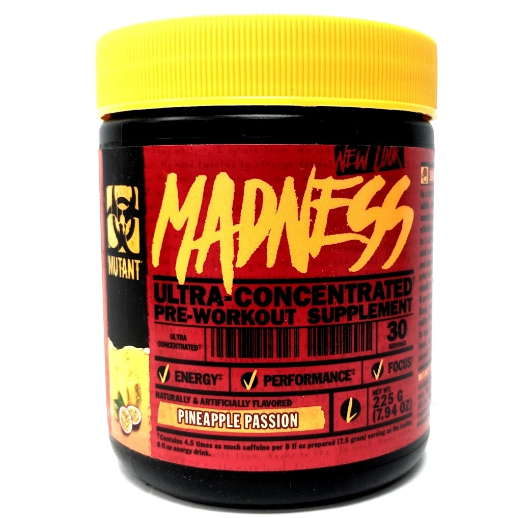Mutant Madness Pre Workout - Pineapple Passion