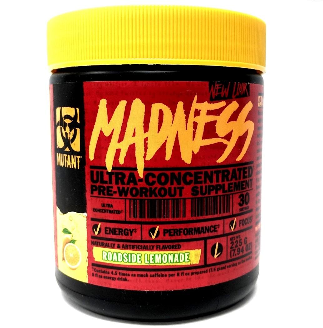 Mutant Madness Pre Workout - Roadside Lemonade