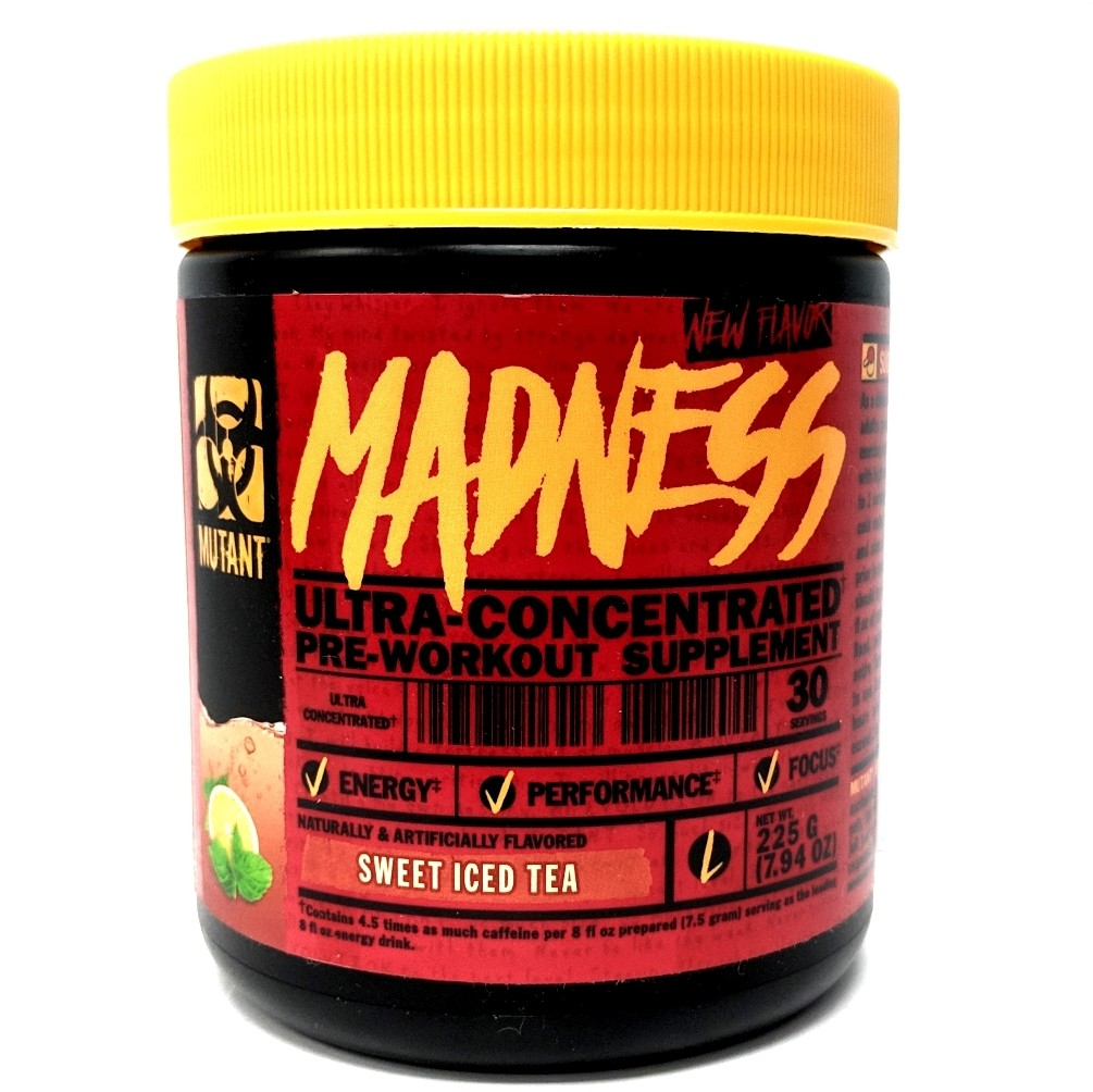 Mutant Madness Pre Workout - Sweet Iced Tea