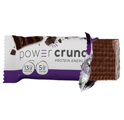 Power Crunch Bar- Triple Chocolate Single