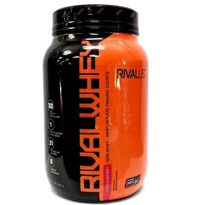 Rivalus Rival Whey Protein 2 Lb - Strawberry Creme