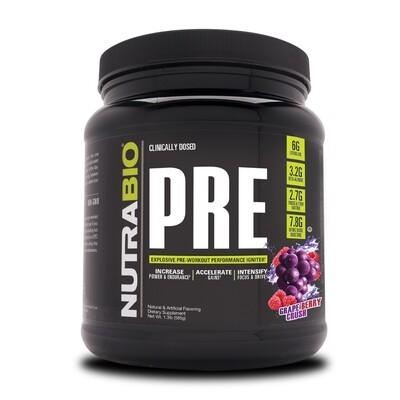 Nutrabio Pre Workout - Grape Berry Crush