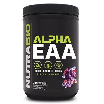Nutrabio Alpha EAA - Grape Berry Crush
