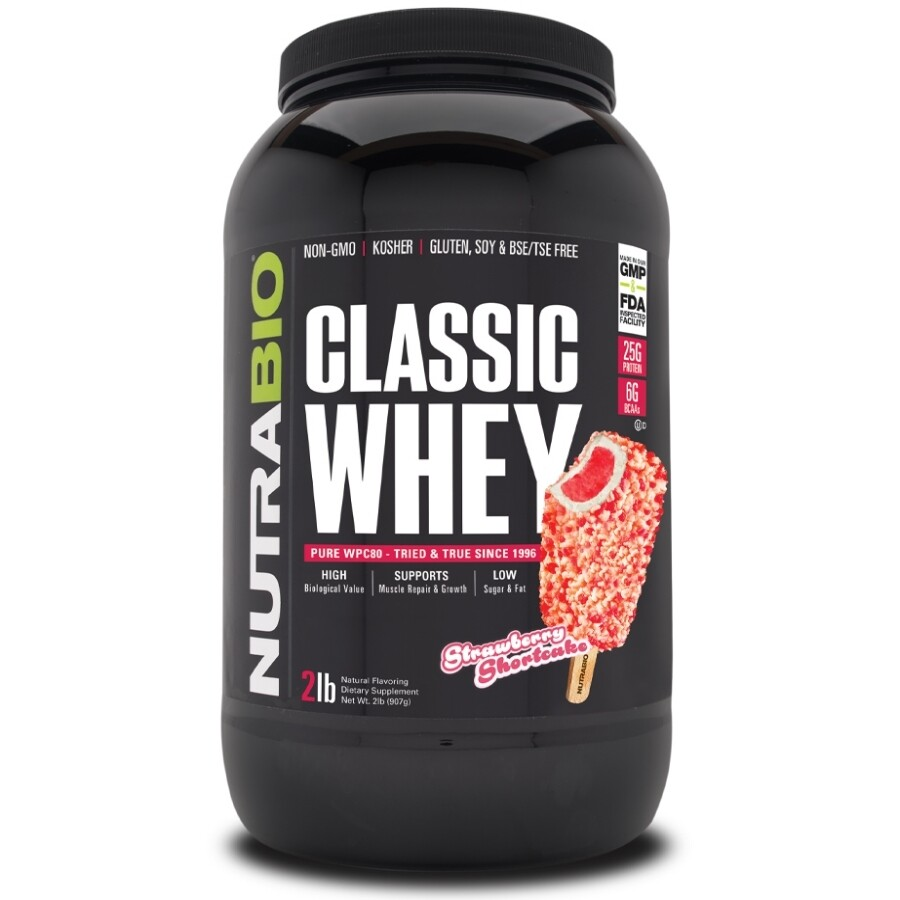 Nutrabio Classic Whey Protein - Strawberry Shortcake