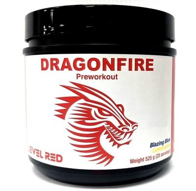 Level Red Dragonfire Pre Workout - Blazing Blue Lemonade