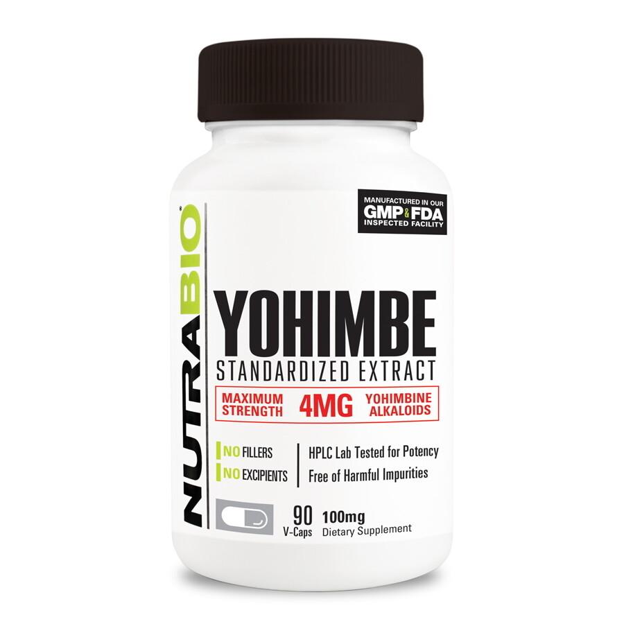 Nutrabio Yohimbe Extract
