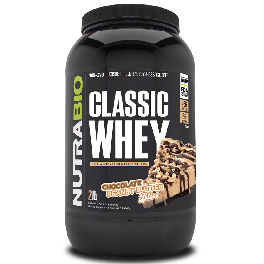 Nutrabio Classic Whey Protein - Chocolate Peanut Butter Bliss