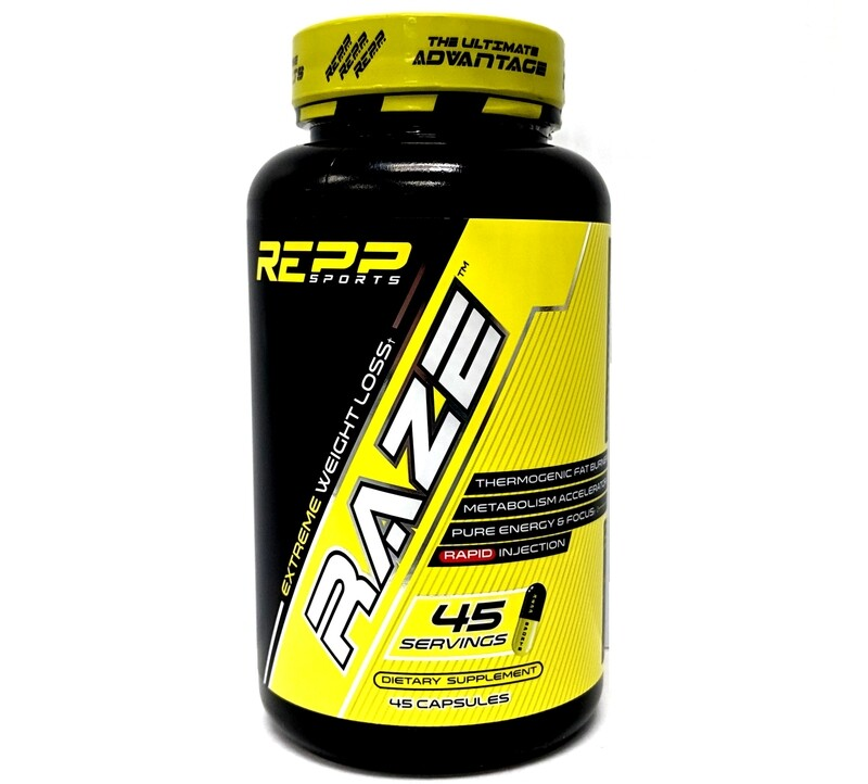 Repp Sports Raze Extreme Weight Loss - 45 Capsules