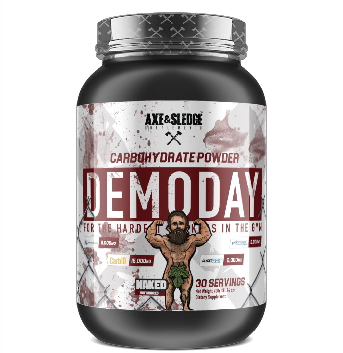 Axe & Sledge Demo Day - Naked Unflavored
