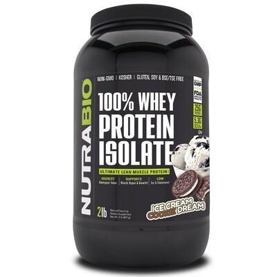 Nutrabio Whey Protein Isolate - Ice Cream Cookie Dream