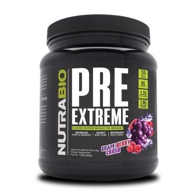 Nutrabio Pre Extreme - Grape Berry Crush