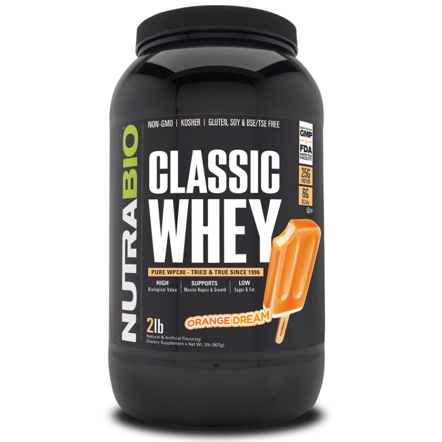 Nutrabio Classic Whey Protein - Orange Dream