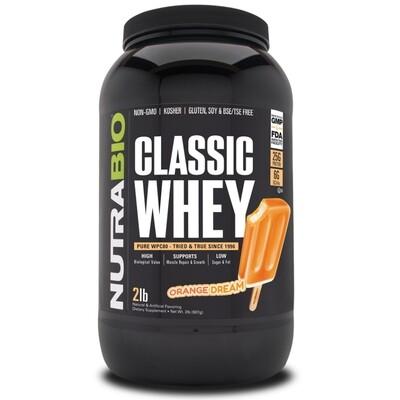 Nutrabio Classic Whey Protein - Orange Dream