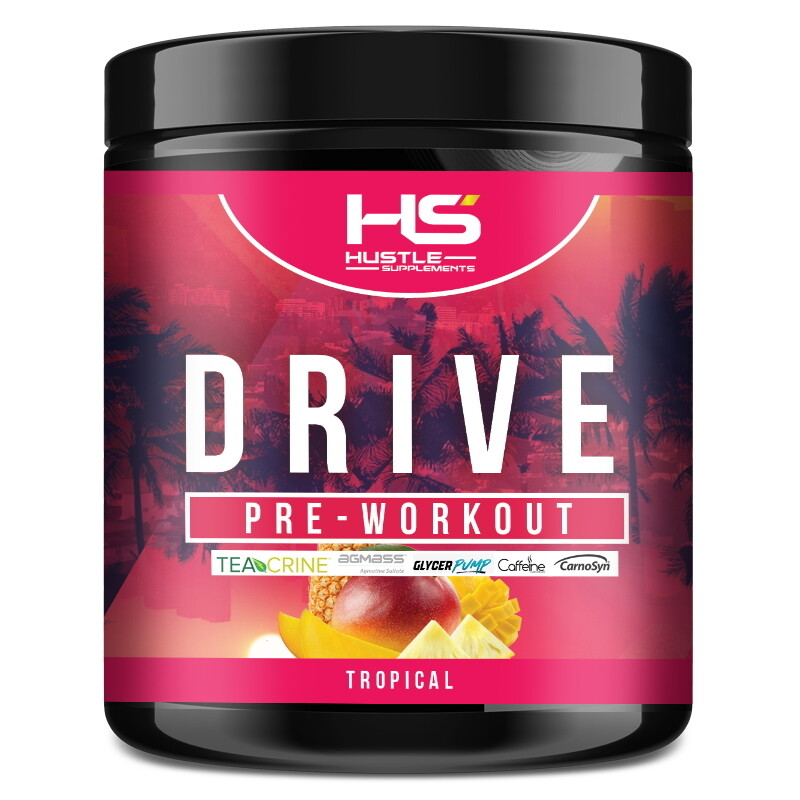Hustle Supplements Drive Pre Workout - Tropical