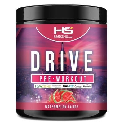 Hustle Supplements Drive Pre Workout - Watermelon Candy