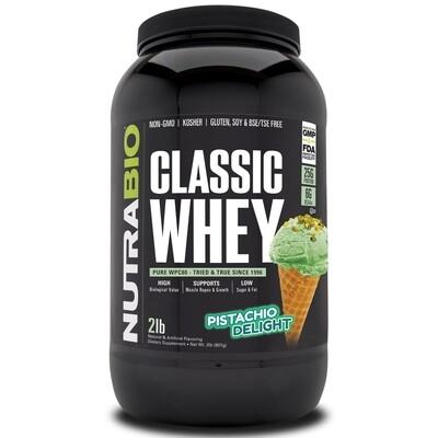 Nutrabio Classic Whey Protein - Pistachio Delight