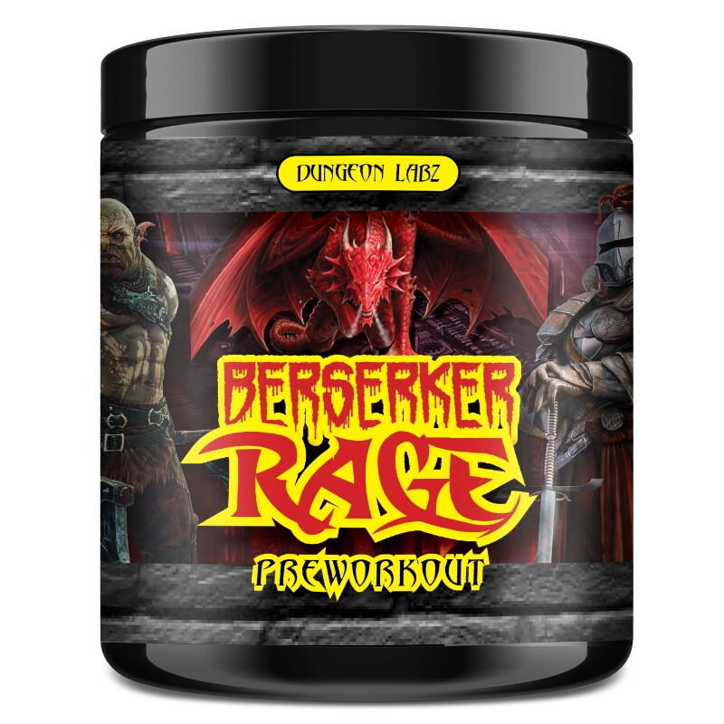 Berserker Rage Pre Workout