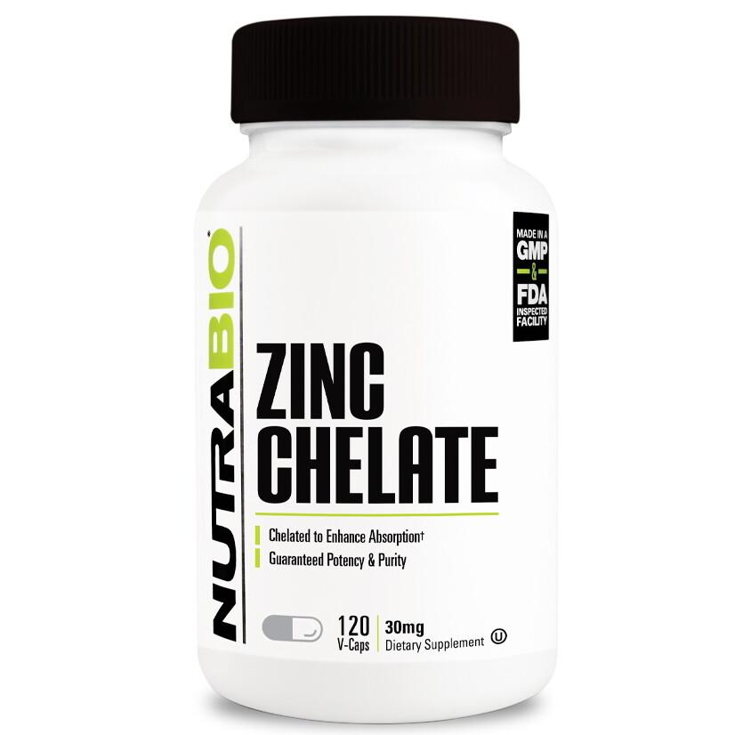 Nutrabio Zinc Chelate - 120 Caps