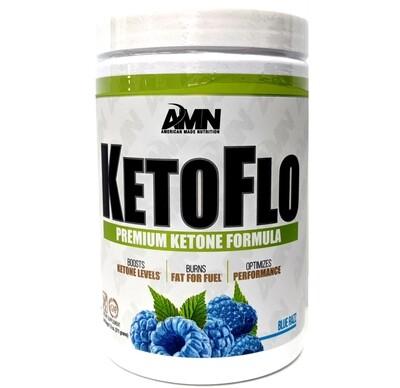 AMN KetoFlo Ketone Formula - Blue Razz