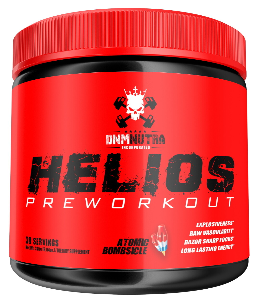 Helios Pre Workout - Atomic Bombsicle